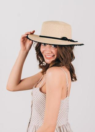 Шляпа женская летняя