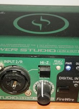 Звукова карта Cakewalk Sonar Power Studio SPS-66 (Made in Japan)