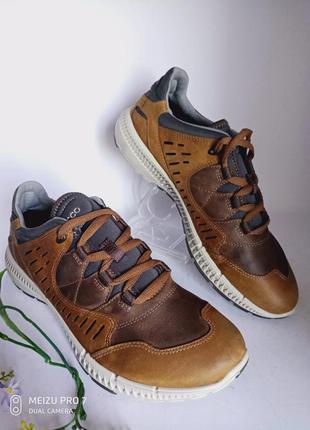 Кожаные кроссовки ботинки ecco terrawalk 38 р. оригинал