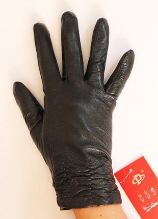 Женские перчатки из натуральной кожи  кожи на меху)  с у п е р...