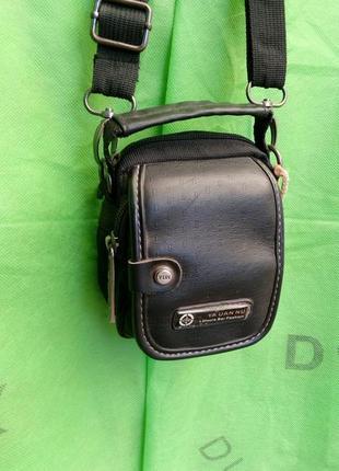 Мужская сумка барсетка через плечо оригинал