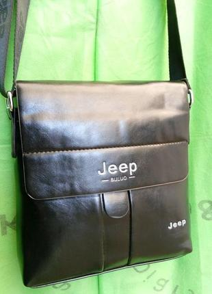 Стильная мужская сумка барсетка jeep