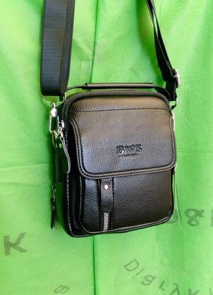 Мужская сумка барсетка через плечо оригинал .