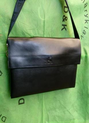 Мужская сумка а 4 через плечо оригинал .