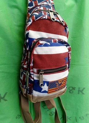 Стильный рюкзак через плечо оригинал