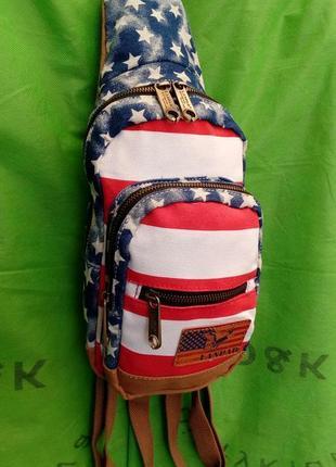 Стильный рюкзак город через плечо оригинал