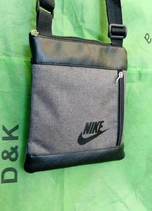 Стильная мужская сумка планшет через плечо.