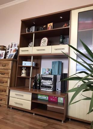 Комплект мебели стенка + стол письменный + тумба