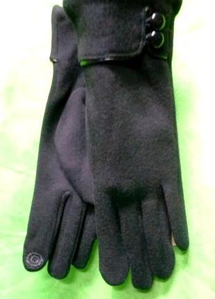 Перчатки женские_сезон 2020_трикотаж сенсорный палец