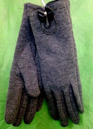 Перчатки женские_мода 2020_кашемир и шерсть