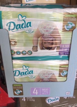 Підгузники Dada Extra Soft 4 оригінал!Польща! памперсы Дада