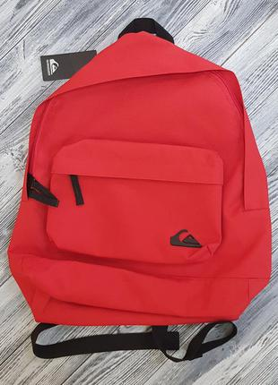 Мужской городской рюкзак quiksilver  18л красный оригинал