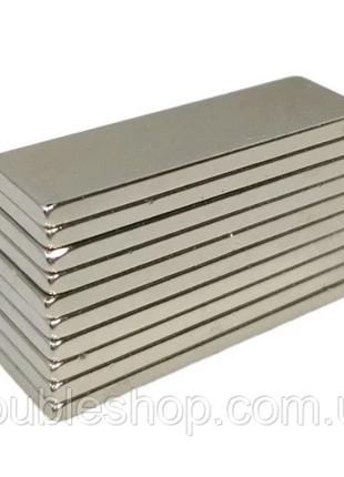 Магниты неодимовые сильные 30x10x3мм N35 10шт