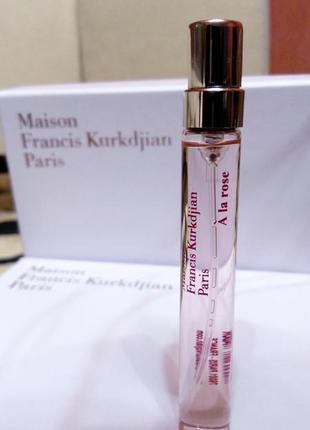 A La Rose Maison Fr. Kurkdjian_Original refillis' Миниатюра 7,5мл