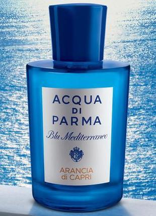 Acqua di Parma Arancia di Capri_Оригинал EDT_5 мл затест