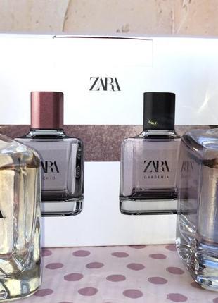 Духи zara gardenia/orchid в наборе /парфюм/парфуми /туалетная ...