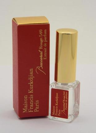 Baccarat Rouge Extrait de Parfum_Maison Fr. Kurkdjian_3 мл_затест
