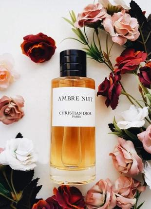 Christian Dior Ambre Nui_Оригинал EDP_3 мл затест_Распив