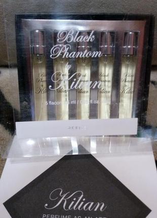 Kilian Black Phantom набор подарочный eau de parfum 5 х 7,5 мл