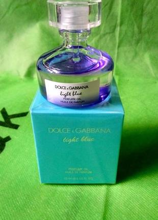 Dolce & Gabbana Light Blue huile de parfum original Масло 20 мл