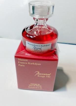 Baccarat Rouge 540 Original refillis'20 ml масло