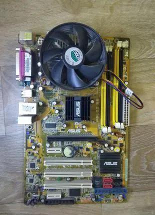 Материнская плата ASUS P5LD2 SE + процессор