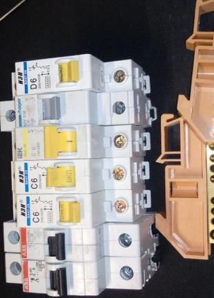 Автоматические выключатели 7 шт.