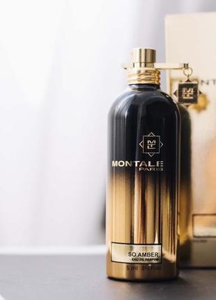 Montale so amber парфюмиров.вода оригинал