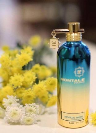 Montale tropical wood парфюмиров.вода оригинал