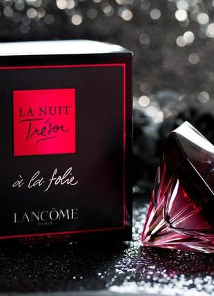 Lancome La Nuit Tresor a La Folie_Оригинал Parfum 5 мл_затест