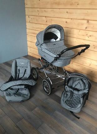 Английская коляска 3 в 1 Baby Style Prestige