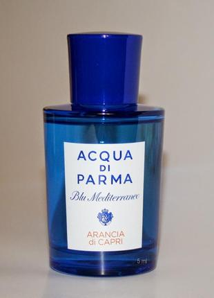 Acqua Di Parma Arancia Di Capri_original 5 мл затест