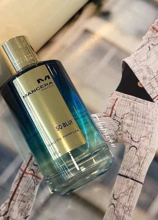 Mancera _so blue _original \ eau de parfum
