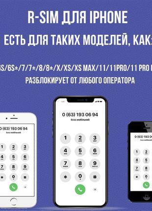 ОПТ Рсім Heicard v1.36 iPhone 6s/7/8/X/Xs/Xs max/11/11 pro max...