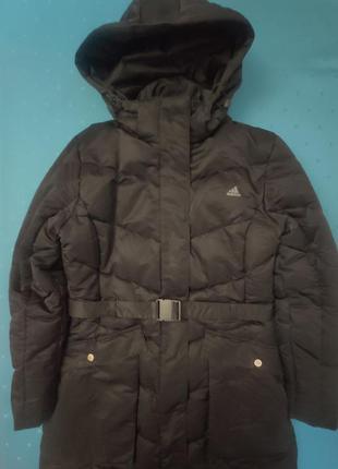 Пуховое пальто adidas