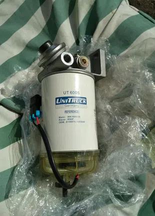Фильтр сепаратор с подогревом