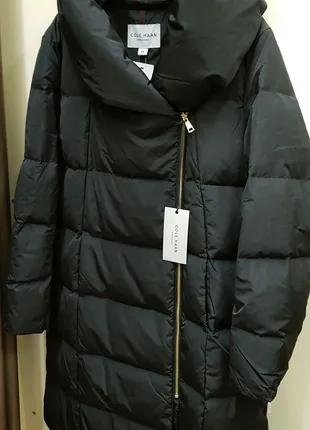 Новая женская зимняя длинная куртка пуховик Cole Haan. Размер XXL