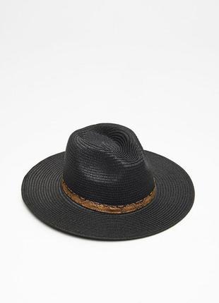 Актуальная шляпа с широкими полями. cropp town