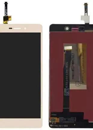Дисплейный модуль для Xiaomi Redmi 3, 3S, 3X Redmi 3S Prime gold