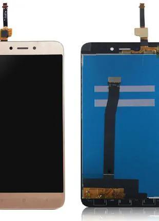 Модуль: дисплей с сенсором (тачскрином) для Xiaomi Redmi 4X gold