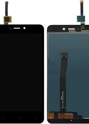 Модуль: дисплей с сенсором (тачскрином) для Xiaomi Redmi 4X black