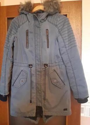 Куртка- парка - Vero moda- джинсовая для девочки 12-13 лет
