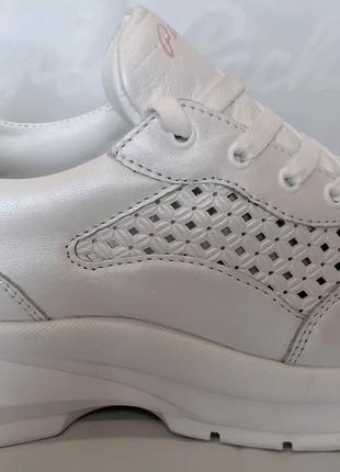 <<Стильные летние кожаные кроссовки CARLO PACHINI.39,40.