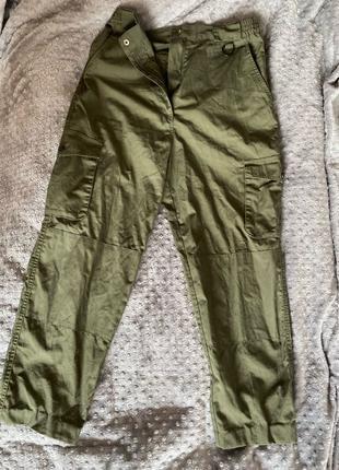 Мужские штаны карго милитари