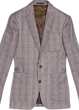 Пиджак в клетку Zara Man 52 размер