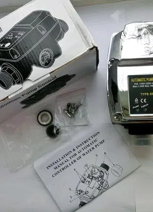 Контроллер реле давления автомат 110V 10Bar, Automatic Pump