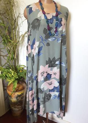 Платье-сарафан  от58 до 64 размера