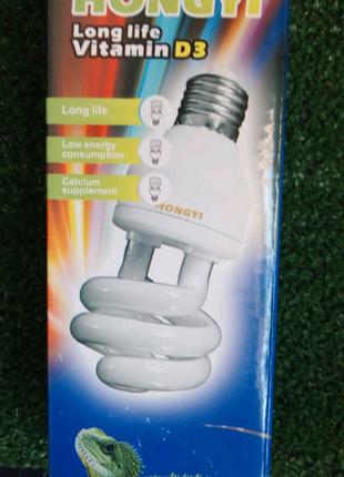 Лампа ультрафиолетовая 10 UVB для агам, хамелеонов и др. рептилий