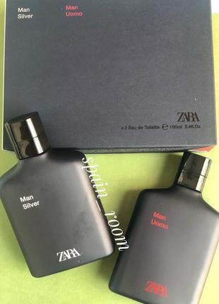 Духи zara silver&uomo/парфюм/туалетная вода/парфуми/туалетна в...