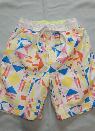 Шорты модные пляжные на мальчика 4-5 лет